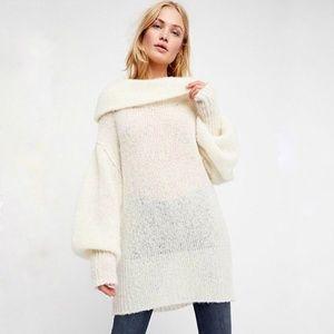 Free People Ophelia sweater NWT Ivory sz S & XS